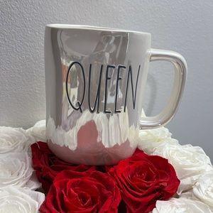 Rae Dunn Queen Mug - Iridescent